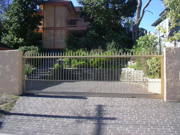 Driveway Gates Designs Pedestrian Gates Aluminium Fencing