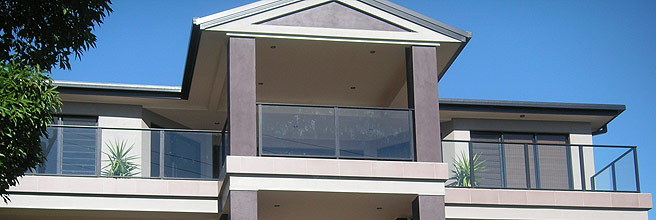 Glass Balcony Fencing
