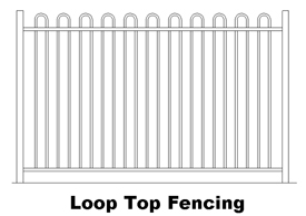 Loop Top Fencing (code FLT)